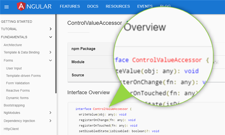 Angular ControlValueAccessor by example header image